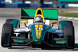 IndyCar Lotus HVM Racing St. Pete qualifying report