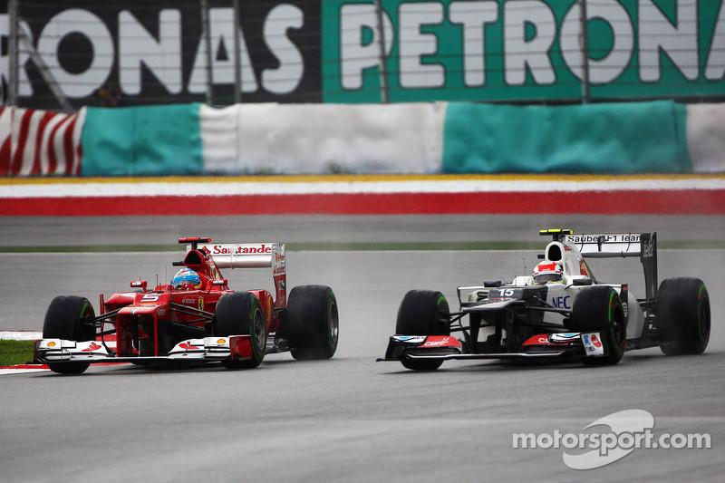 Sauber denies team order to help Ferrari