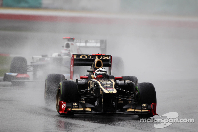 Lotus Malaysian GP - Sepang race report