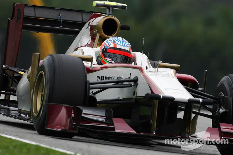 'New' HRT not in third F1 season - Gracia