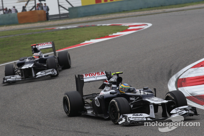 Williams Chinese GP - Shanghai race report