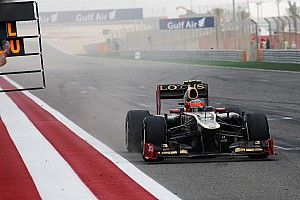 Grosjean told 'Kimi faster than you'