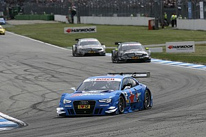 Audi is arriving at Lausitzring as title defender and last year's race winner