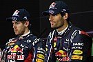 Red Bull 'happy' with Webber and Vettel - boss