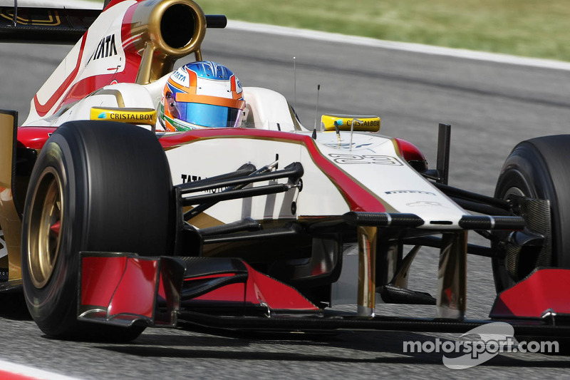 HRT Spanish GP - Catalunya qualifying report