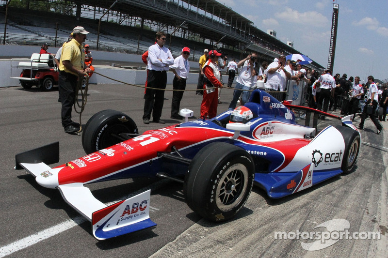 Cunningham leads final Honda Indy 500 qualifiers