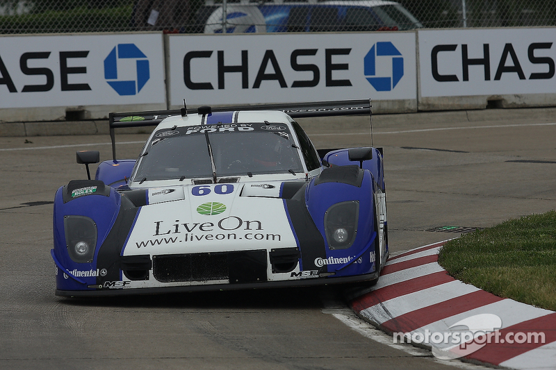 Michael Shank Racing learns more about Detroit track during qualifying