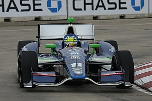 IndyCar KV Racing's Kanaan finishes 6th in shortened Detroit GP