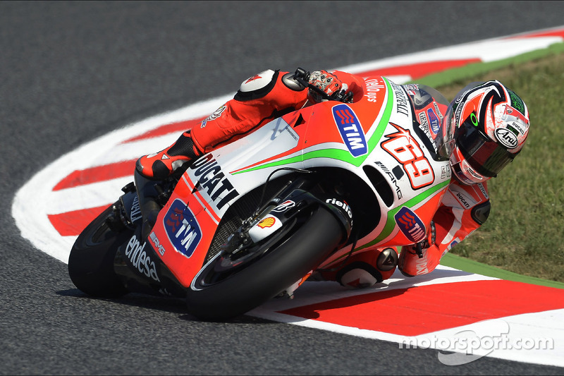 Ducati Team works on setup for fast Circuito de Catalunya