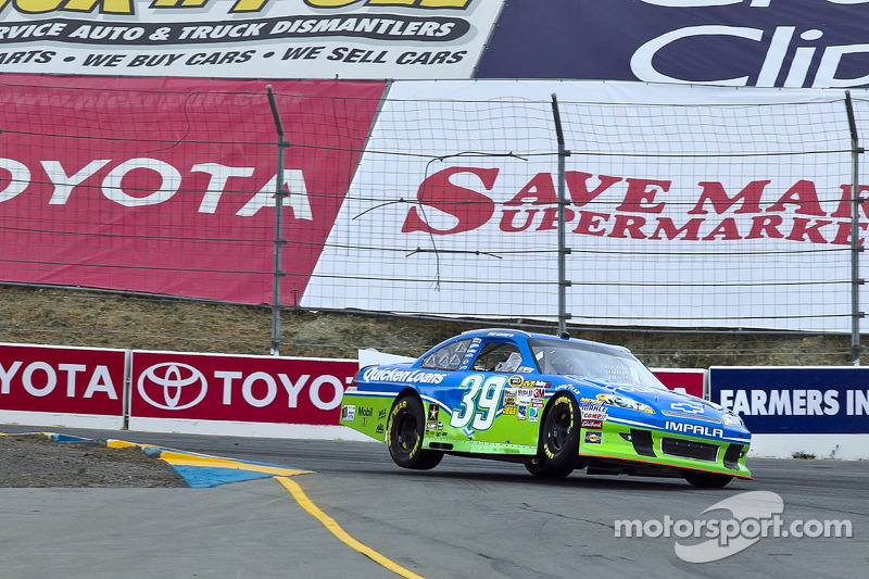 Newman struggles to 18th-place finish at Sonoma
