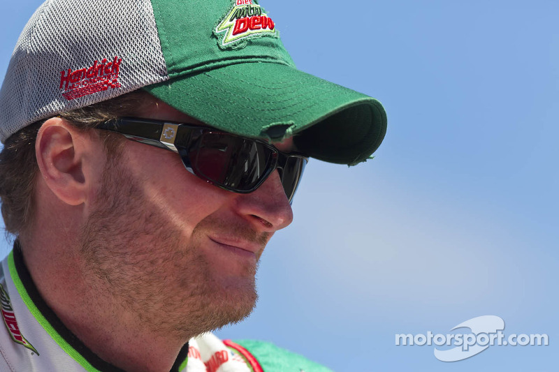 Earnhardt Jr. talks with media about how Kentucky track is different
