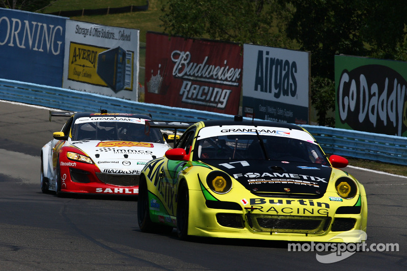 Burtin Racing top Porsche GT qualifier at The Glen