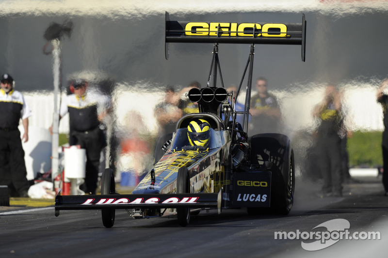 Lucas has his dragster back on track and revved up for Norwalk