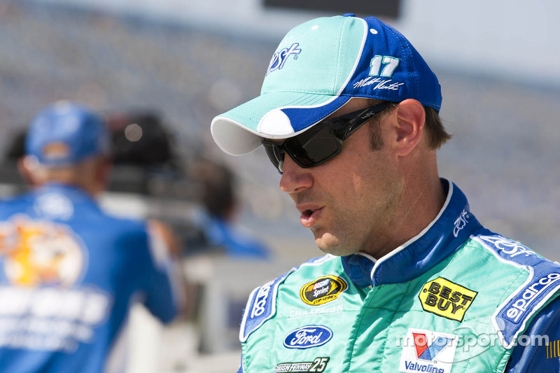 Kenseth happy to get a 3rd place at Daytona