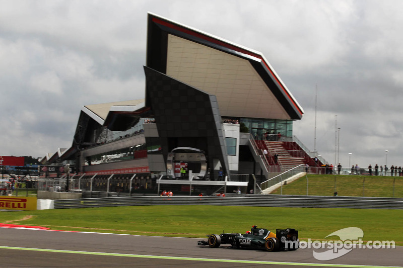 Caterham hopes to improve after the disappoinment in Silverstone