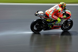 Sun and rain at Sachsenring for German GP free practice
