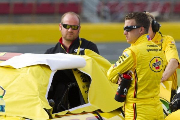 A.J.Allmendinger brings in some weapons to fight drug test result