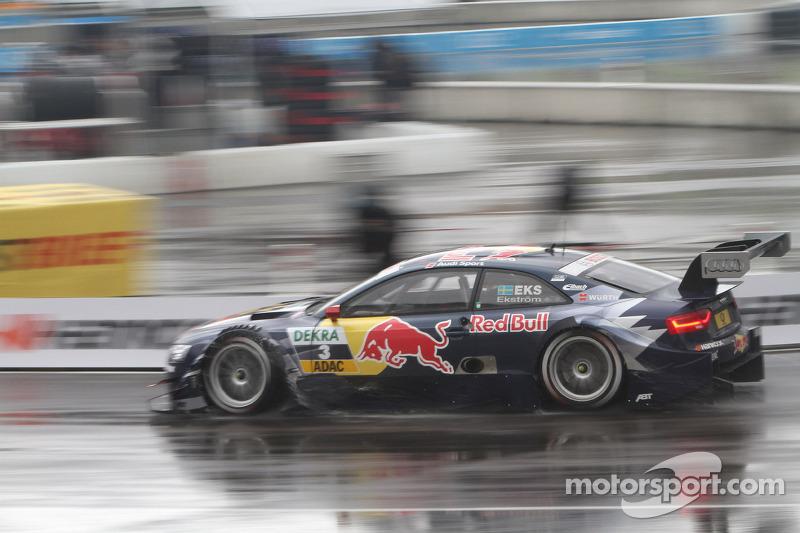 Audi driver Ekström triumphs in Munich