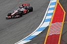 Button leads McLaren 1-2 at Hockenheim Friday practice