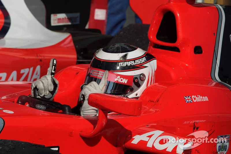 Chilton earns his maiden GP2 win in Feature Race on Hungaroring
