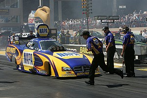 NHRA Qualifying report Capps celebrates clinching Funny Car Countdown berth