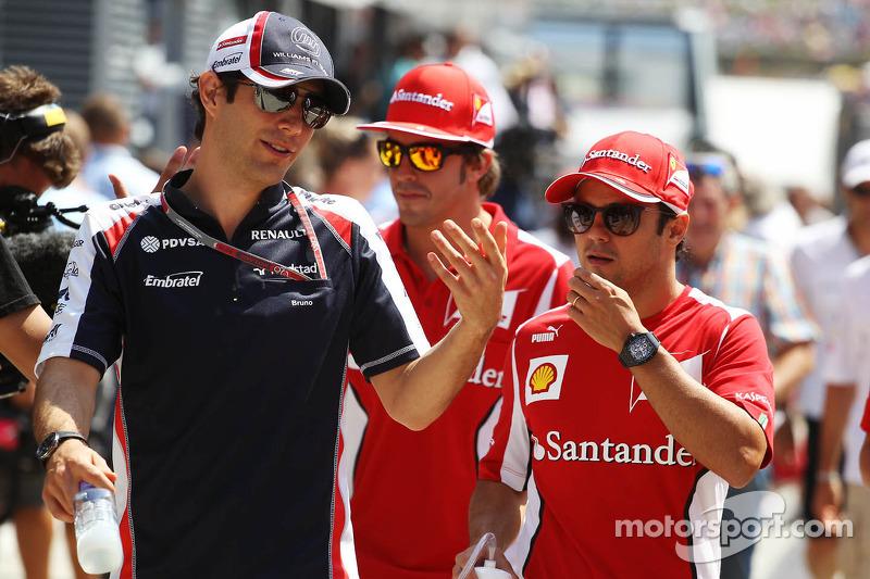 'Frank Williams happy' with Senna's progress