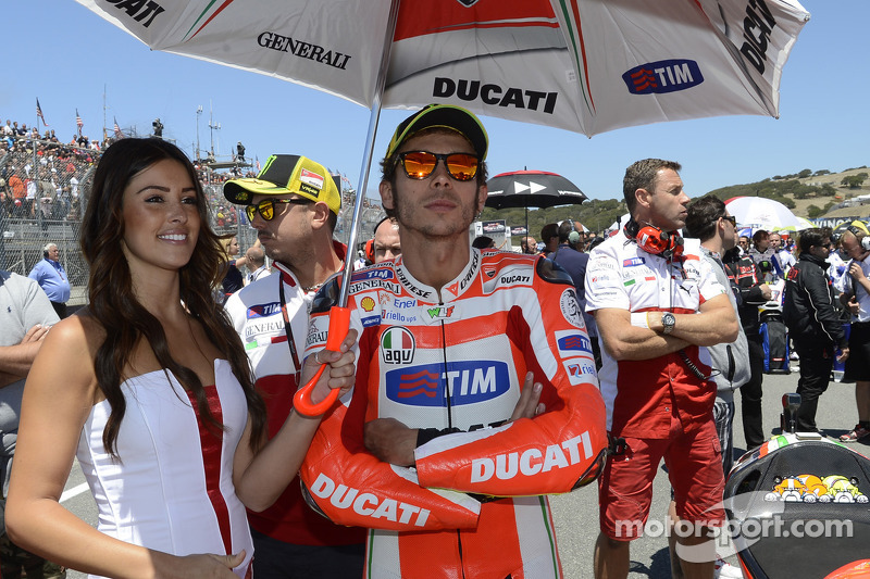 Ducati and Rossi to part ways at the end of 2012