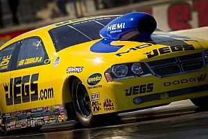 NHRA Race report JEGS/Mopar's Coughlin reach second round in Brainerd