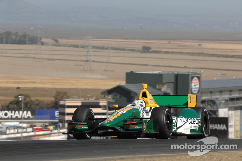 Engine change puts Lotus HVM Racing at back of Sonoma field
