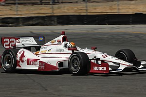 IndyCar Race report Disappointing day for Panther and Servia in Sonoma