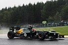 Caterham team comment about Friday Spa practice