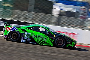 ALMS Qualifying report ESM Patrón qualifies sixth and 11th on bumpy Baltimore track