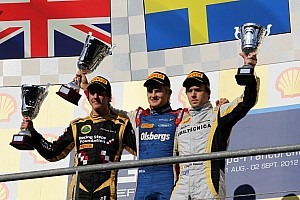 GP2 Race report Ericsson wins dramatic Spa feature race