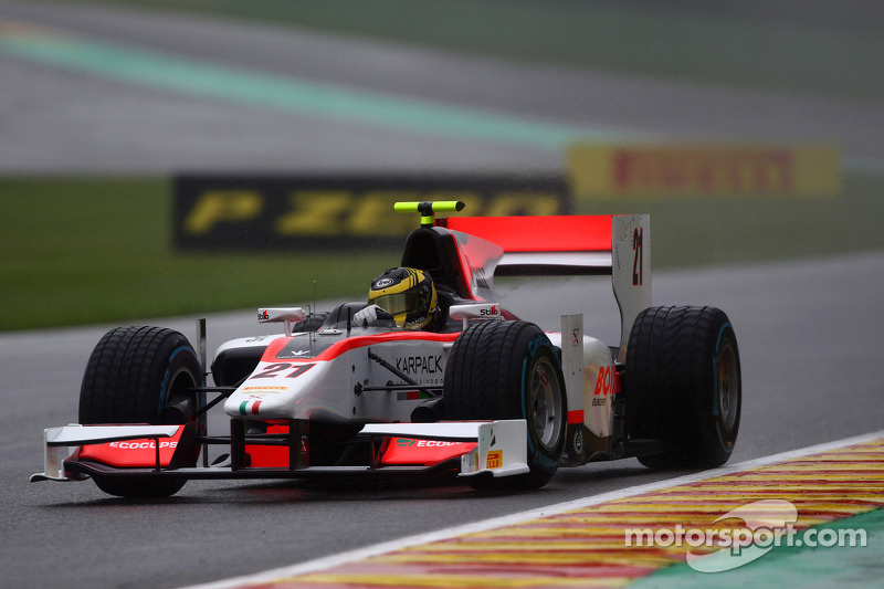 De Jong concludes GP2 programme with a flourish at Spa