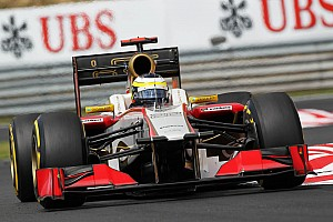 Formula 1 Preview HRT's De la Rosa will be racing his 100th F1 GP at Monza