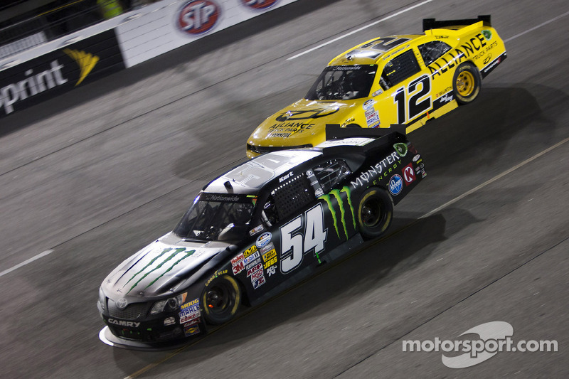 Kurt Busch and KBM team third in Richmond return