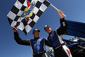 Grand-Am Race report Garcia and Westbrook hand Spirit of Daytona Corvette victory at Laguna Seca