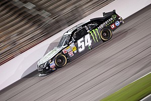 Kyle Busch puts his Toyota second in Chicagoland return