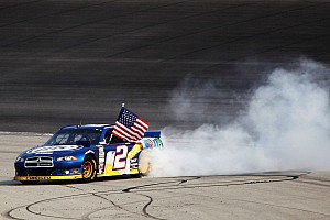 NASCAR Sprint Cup Race report SRT Motorsport race quotes after victory at Chicagoland