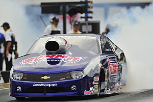 NHRA Race report Jason Line starts Countdown with big win at zMAX Dragway