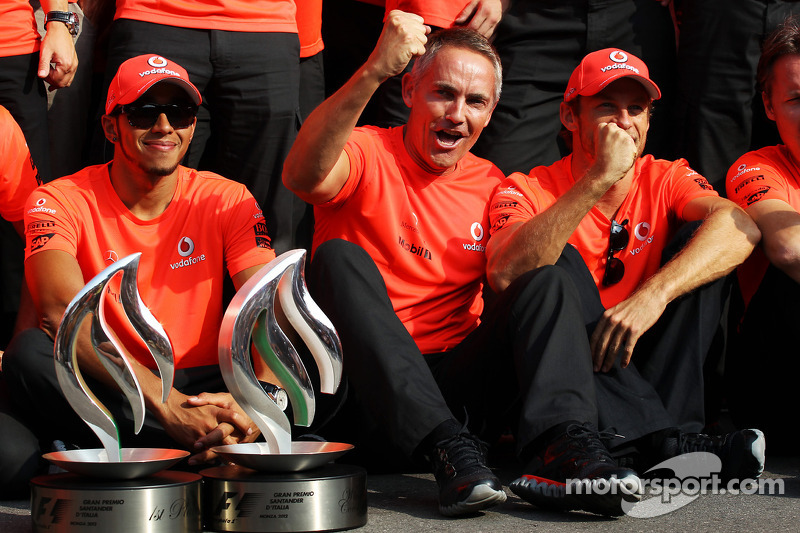 Whitmarsh puts brave face to Hamilton rumours