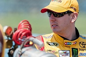 NASCAR Sprint Cup Qualifying report Kyle Busch top qualifier for Toyota at Loudon