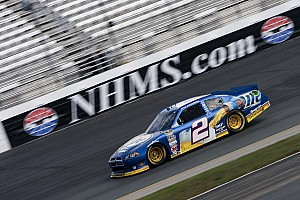 NASCAR Sprint Cup Race report Keselowski, Hornish have mixed results for Dodge at Loudon