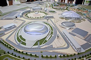 Formula 1 Breaking news Construction details of 2014 Russian Grand Prix circuit in Olympic Park unveiled