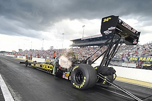 NHRA Qualifying report At Reading Lucas in line for fifth top qualifying effort of the season