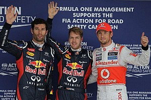 Vettel nails down his fourth pole in 2012 at Suzuka
