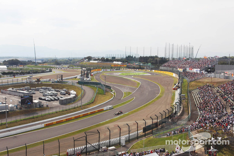 Lotus easily through to the top 10 qualifying at Sozuka