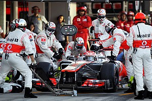 McLaren didn't have the pace to win at Suzuka