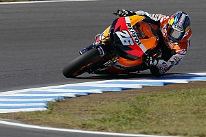 MotoGP Practice report Pedrosa sets the pace in Motegi free practice
