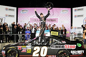 NASCAR XFINITY Race report Logano gets first Charlotte win and eighth of the season